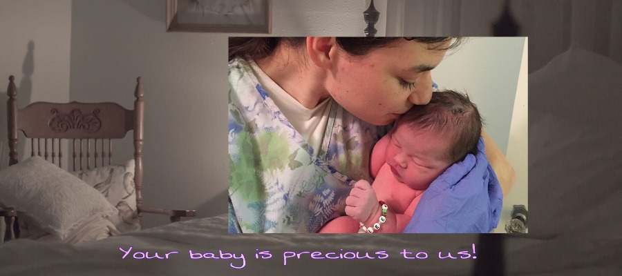 Your baby is precious to us!